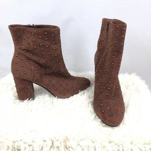 Lucky Brand Studded Ankle Boots Sz. 9